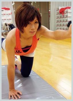 川澄奈穂美の筋肉が凄い!